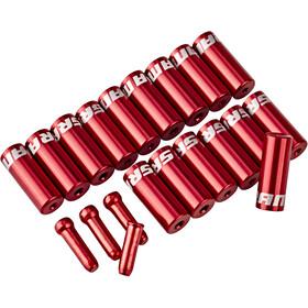 SRAM Kabeluiteinden-set, red